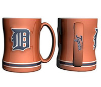 Detroit Tigers Boelter Brands Sculpted Coffee Mug - Orange (14 oz)