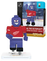 Detroit Red Wings Mascot Al The Octopus OYO