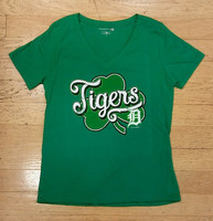 Detroit Tigers Women's 5th & Ocean St. Patrick's Day T-shirt