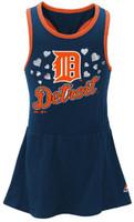Detroit Tigers Majestic Girl's Infant Criss Cross Tank Dress