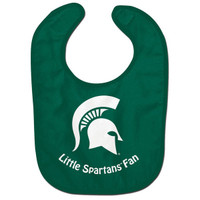 "Michigan State University WinCraft Infant ""Little Spartans Fan"" Bib"