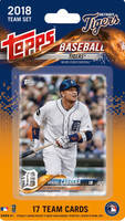 Detroit Tigers 2018 Topps Team Set