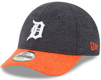 Detroit Tigers Toddler New Era Navy Blue Shadowed Tot 9FORTY Adjustable Hat