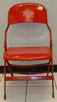 Henrik Zetterberg Autographed Joe Louis Arena Original Metal Folding Chair (Pre-Order)
