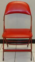 Henrik Zetterberg Autographed Joe Louis Arena Original Padded Folding Chair (Pre-Order)