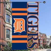 Detroit Tigers Team Sports America 23.5'' x 44'' Sculpted House Flag