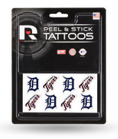 Detroit Tigers Rico Industries Peel and Stick Tattoos