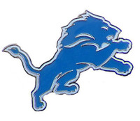 Detroit Lions Aminco International Logo Lapel Pin