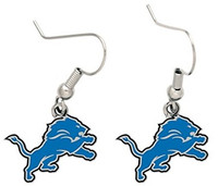 Detroit Lions Wincraft Dangle Logo Earrings