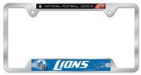 Detroit Lions Wincraft Chrome Auto License Plate Frame