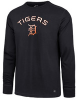 Detroit Tigers Men's 47 Brand Forward Microlite Long Sleeve Tshirt
