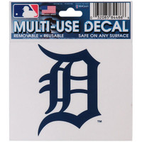 "Detroit Tigers WinCraft 3""x 4"" Multi-Use Decal"