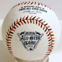 Ivan Rodriguez Autographed Baseball - Official 2005 All Star Game Ball (Pre-Order)