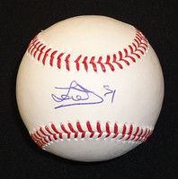 Jose Iglesias Autographed Baseball - Official Major League Ball