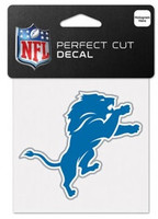 "Detroit Lions WinCraft Logo Perfect Cut Decal 3"" x 2.5"""