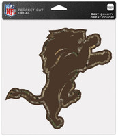 "Detroit Lions WinCraft 8""x 8"" Camo Color Perfect Cut Decal"