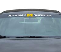 "University of Michigan Team ProMark 35""x4"" Windshield Decal"