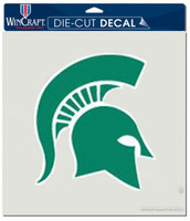 "Michigan State University Wincraft Perfect Cut 8""x8"" Green Decal"
