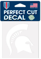 "Michigan State University Wincraft Perfect Cut 4""x4"" Decal"