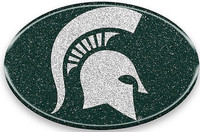 Michigan State University Team ProMark Automotive Flexible Bling Team Emblem