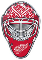 Detroit Red Wings Team ProMark Color Goalie Mask Auto Emblem