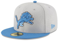 Detroit Lions Men's New Era NFL Team Basic 59FIFTY Fitted Hat