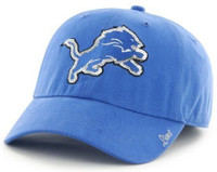 Detroit Lions Women's 47 Brand Sparkle Team Color Adjustable Hat