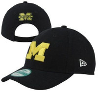 University of Michigan Men's New Era 9Forty The League Adjustable Hat