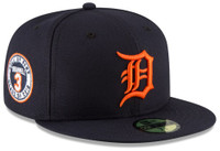 Detroit Tigers Men's New Era Alan Trammell Hall of Fame 59FIFTY Fitted Hat