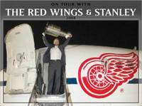 """""""On Tour With The Red Wings & Stanley 2008"""" Book"""