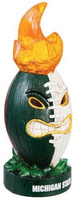 Michigan State University My Evergreen Lit Tiki Totem
