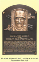 "Jack Morris Autographed Hall of Fame Plaque Postcard Inscribed ""HOF 18"" (Pre-Order)"