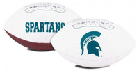 Michigan State University Rawlings Full Size Embroidered Signature Series Football