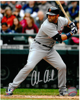 Alex Avila Autographed Detroit Tigers 8x10 Photo #9 - 2013 Road Batting