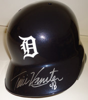Torii Hunter Autographed Detroit Tigers Authentic Batting Helmet
