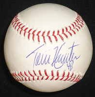 Torii Hunter Autographed Baseball - Official Major League Ball