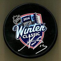Pavel Datsyuk Autographed 2014 Winter Classic Souvenir Puck