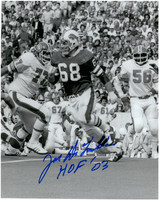 Joe DeLamielleure Autographed Buffalo Bills 8x10 Photo #2