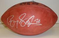 Barry Sanders Autographed Official NFL Football (Vintage Tagliabue Ball)