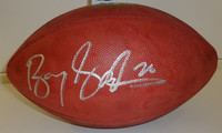Barry Sanders Autographed Official NFL Football