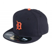 Detroit Tigers Road New Era 5950 Hat