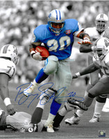 Barry Sanders Autographed Detroit Lions 16x20 Photo #1 - Spotlight