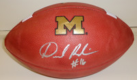 Denard Robinson Autographed Michigan Wolverines Authentic NCAA Football