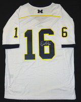 Denard Robinson Autographed Michigan Wolverines Jersey (Blue or White)