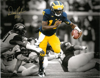 Denard Robinson Autographed Michigan Wolverines 16x20 Photo #1 - Spotlight vs. MSU