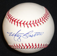 Marty Castillo Autographed Baseball - Official Major League Ball