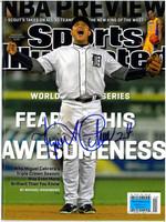 "Miguel Cabrera Autographed Sports Illustrated 11-22-2012 ""Fear His Awesomeness"""