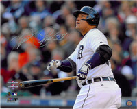 Miguel Cabrera Autographed Detroit Tigers 16x20 Photo #4 - HR Game 4 ALCS