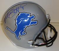 Matthew Stafford Autographed Detroit Lions Deluxe Replica Helmet
