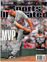 Justin Verlander Sports Illustrated Magazine - 9-19-2011
